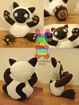 Oishii the Cat Plushie Version 2