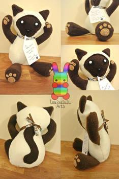 Oishii the Cat Plushie Version 1
