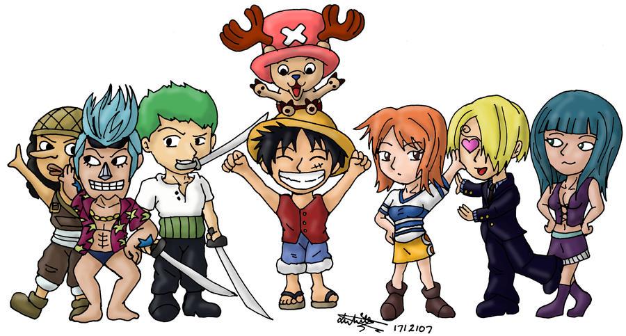 One Piece Characters Luffy Crew   www.pixshark.com ...