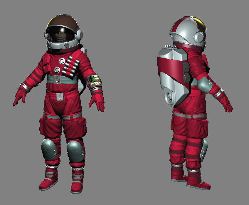 detailed space suit - photo #45