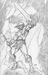 He-Man by JohnJett