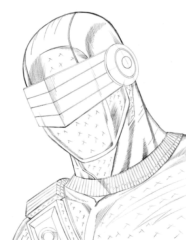 Snake Eyes By Johnjett On Deviantart - snake eyes coloring pages