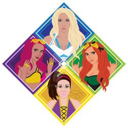 4 Horsewoman