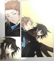 Pandora Hearts Eliot and Leo by ShionMion