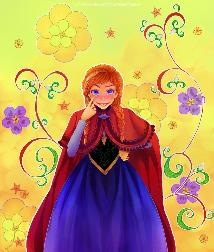 Frozen. Joy by ShionMion