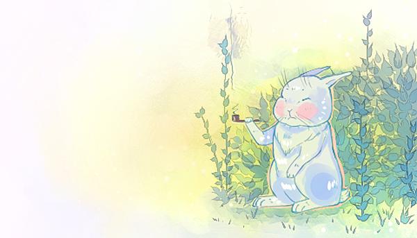 Little wise rabbit by ShionMion