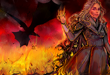 The Queen of fire and ashes by ShionMion