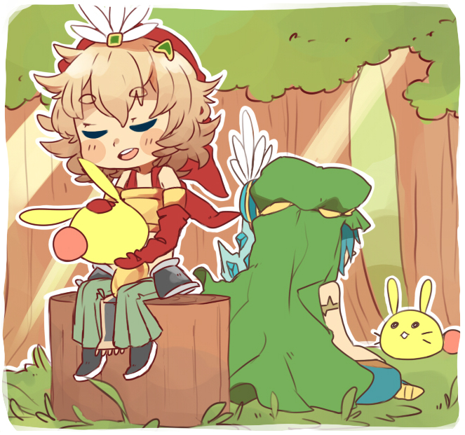 Toto and Elazul by Tomoji