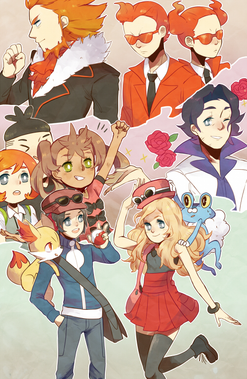 pokemon xy by Tomoji