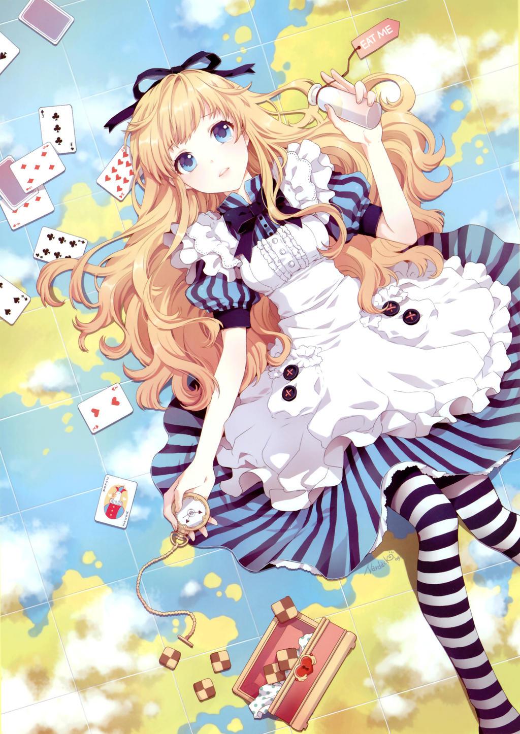alice in wonderland anime by sonicthehedgehog105 on DeviantArt