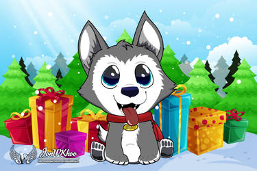 Merry Christmas and Have a Happy Holiday! Woff! by JonWKhoo