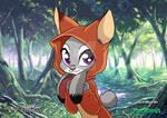 Judy Hopps As a Fox (Goodbye 2018 and Hello 2019) by JonWKhoo