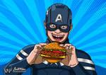 Captain America One Last Burger (Parody Version) by JonWKhoo
