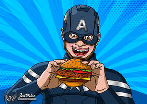 Captain America One Last Burger (Parody Version)