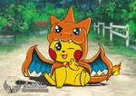 Pikachu Mega Charizard Y