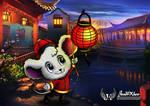 Happy CNY Mouse by JonWKhoo