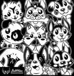 Furry Frienzies by JonWKhoo