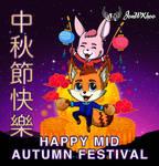Rabbit and the Fox Mooncake Festival by JonWKhoo