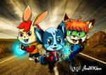 Team ZacBlue by JonWKhoo