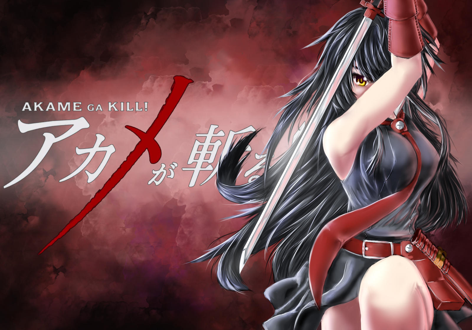 Akame Ga Kill Wallpaper: Akame Ga Kill Wallpaper By Nai-Shiro On DeviantArt