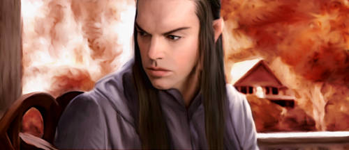 Lord Elrond by Sylar-Spock