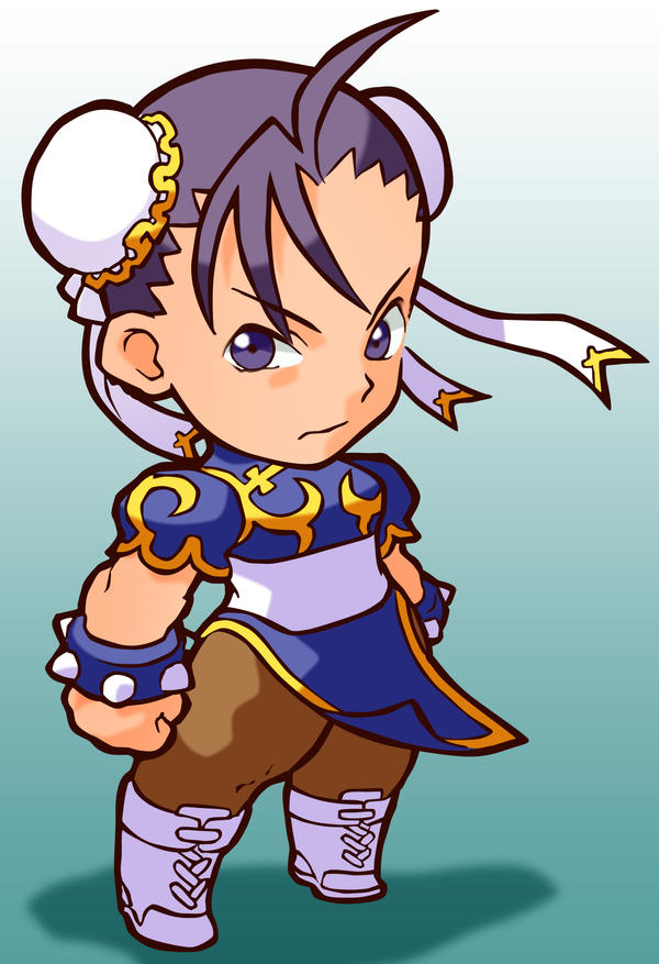 Chibi Chun Li by Orinknight