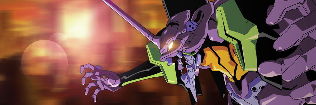 Neon Genesis Evangelion Eva Unit 01 by Orinknight