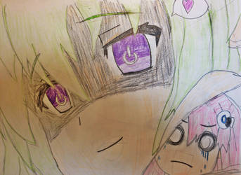 Yandere Vert (Hyperdimension Neptunia) by Frost1089