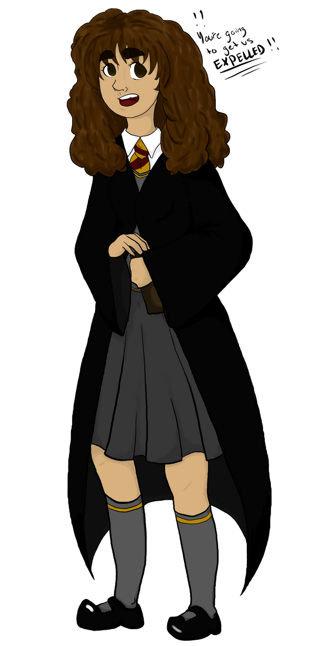 Hermione Art Trade by BriMK