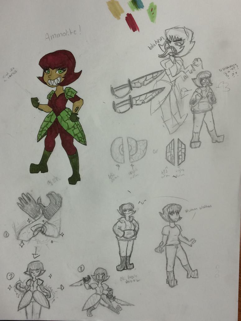 Ammolite Doodles (1) by BriMK