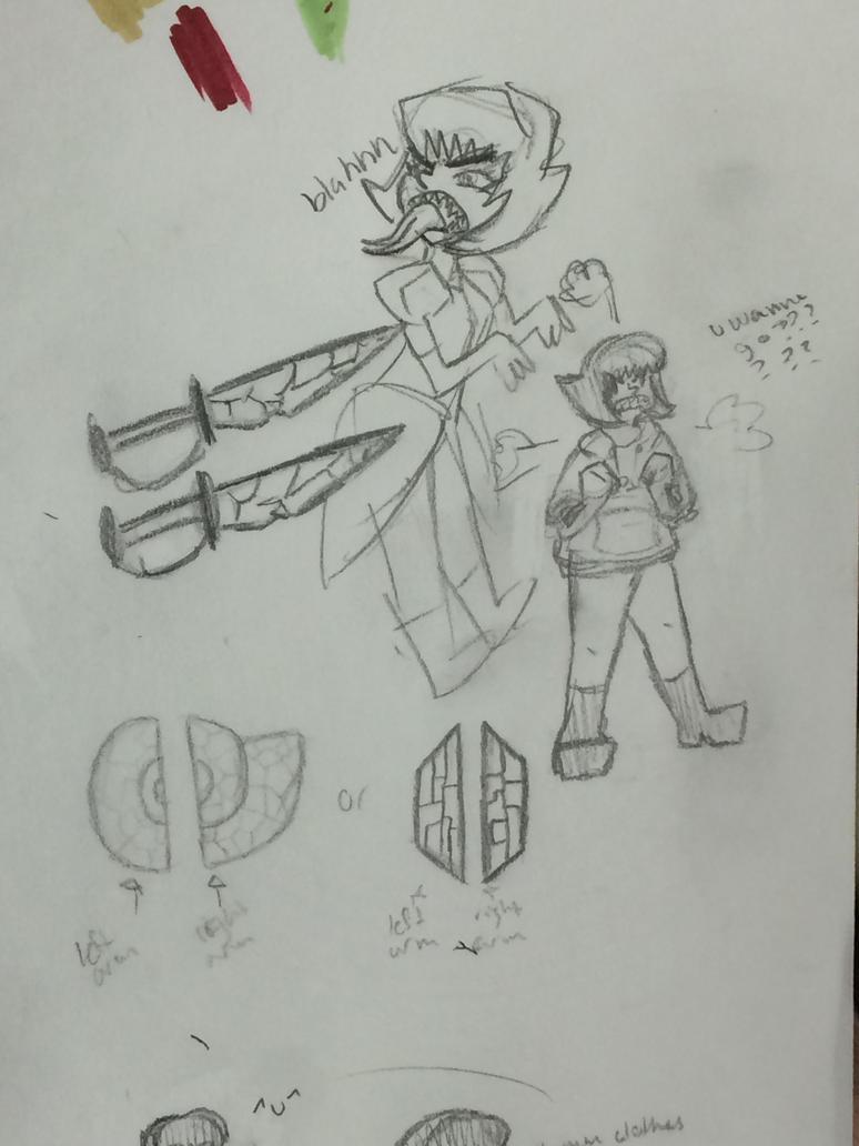 Ammolite Doodles (3) by BriMK