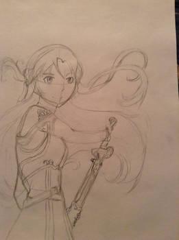 Asuna sketch