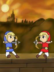Toon blue vs Toon red