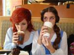 D princesses Starbucks style