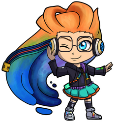 League of Legends - Cyberpop Zoe Chibi