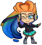 League of Legends - Cyberpop Zoe Chibi