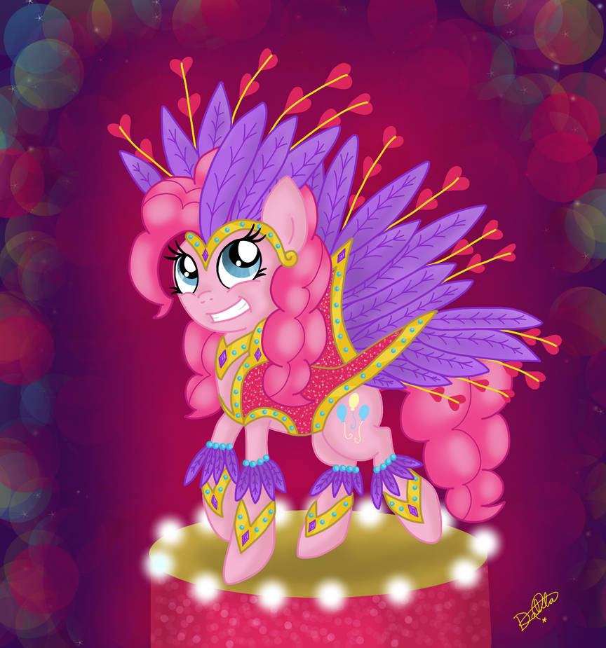 Pinkie Pie no Carnaval by Dalilastar