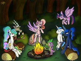 Royal Campfire [Colored] by Dalilastar