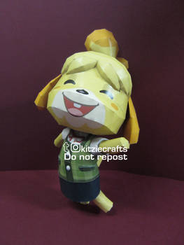 Isabelle Papercraft