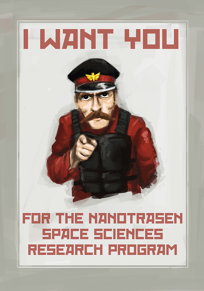 Space Station 13 Recruitment by HawtKoffee