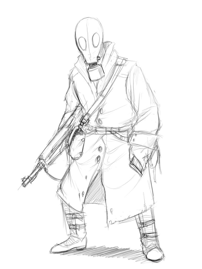 Dieselpunk Soldier Diesel Punk - Soldier by
