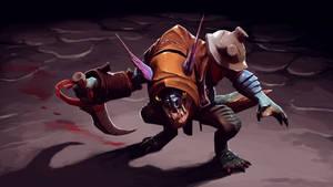 Slark - Harboured Assassin by HawtKoffee