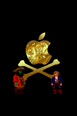 Monkey Island Apple by lhauert