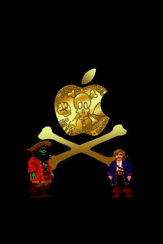 Monkey Island Apple By Lhauert