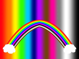 Rainbowlight Cloudy