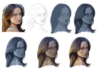 Face Study Practice by JubeiSpiegel
