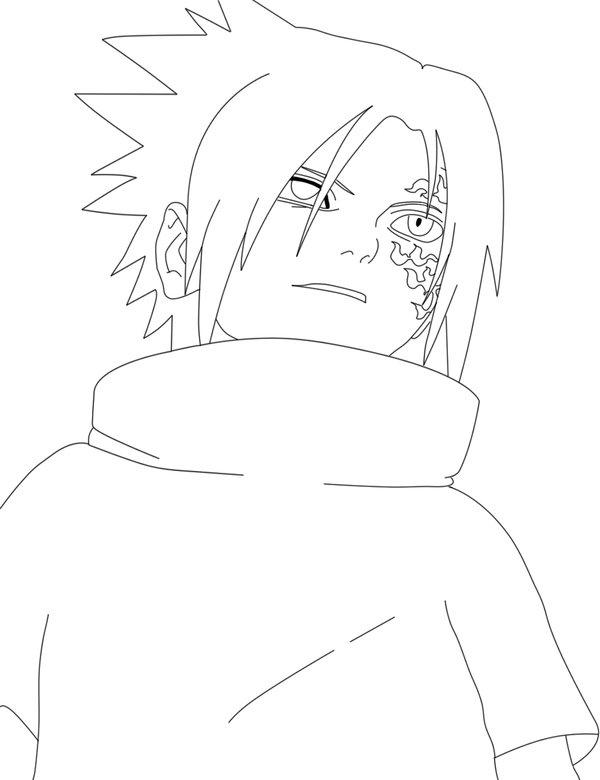 Sasuke Cursed Seal  by MissTsunadeSenju147