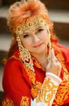 Female medieval dress Goddess Lada