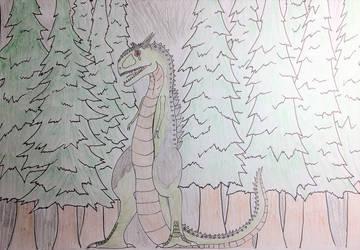 The Quabbin Reservoir Monster by Zimzilla99