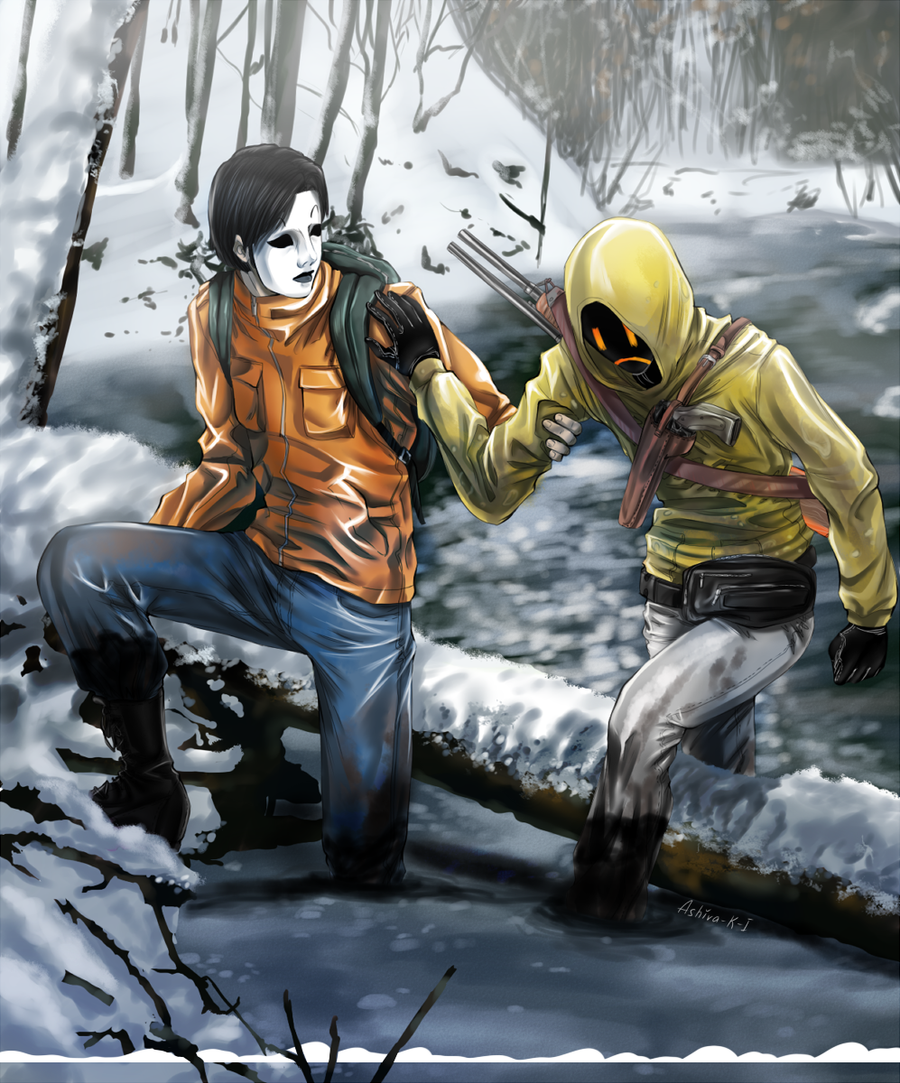 My favorite creepypastas are the killer twins masky and hoodie